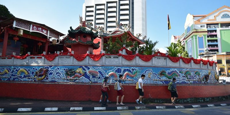 kuching heritage trail tour